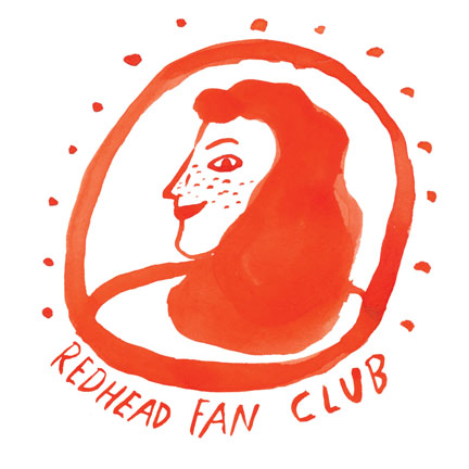 coming soon, the redhead fan club!