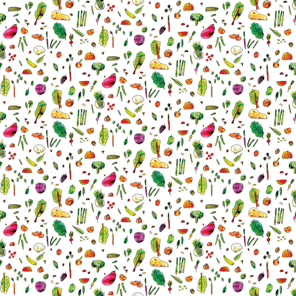 fall foods pattern