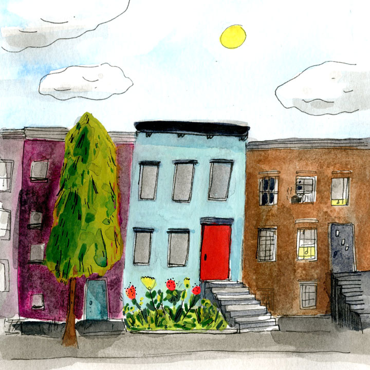 An article about finding housing in  Brooklyn Magazine.