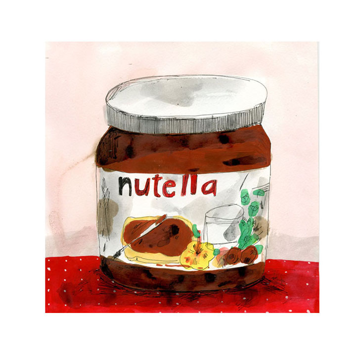 Nutela illustration