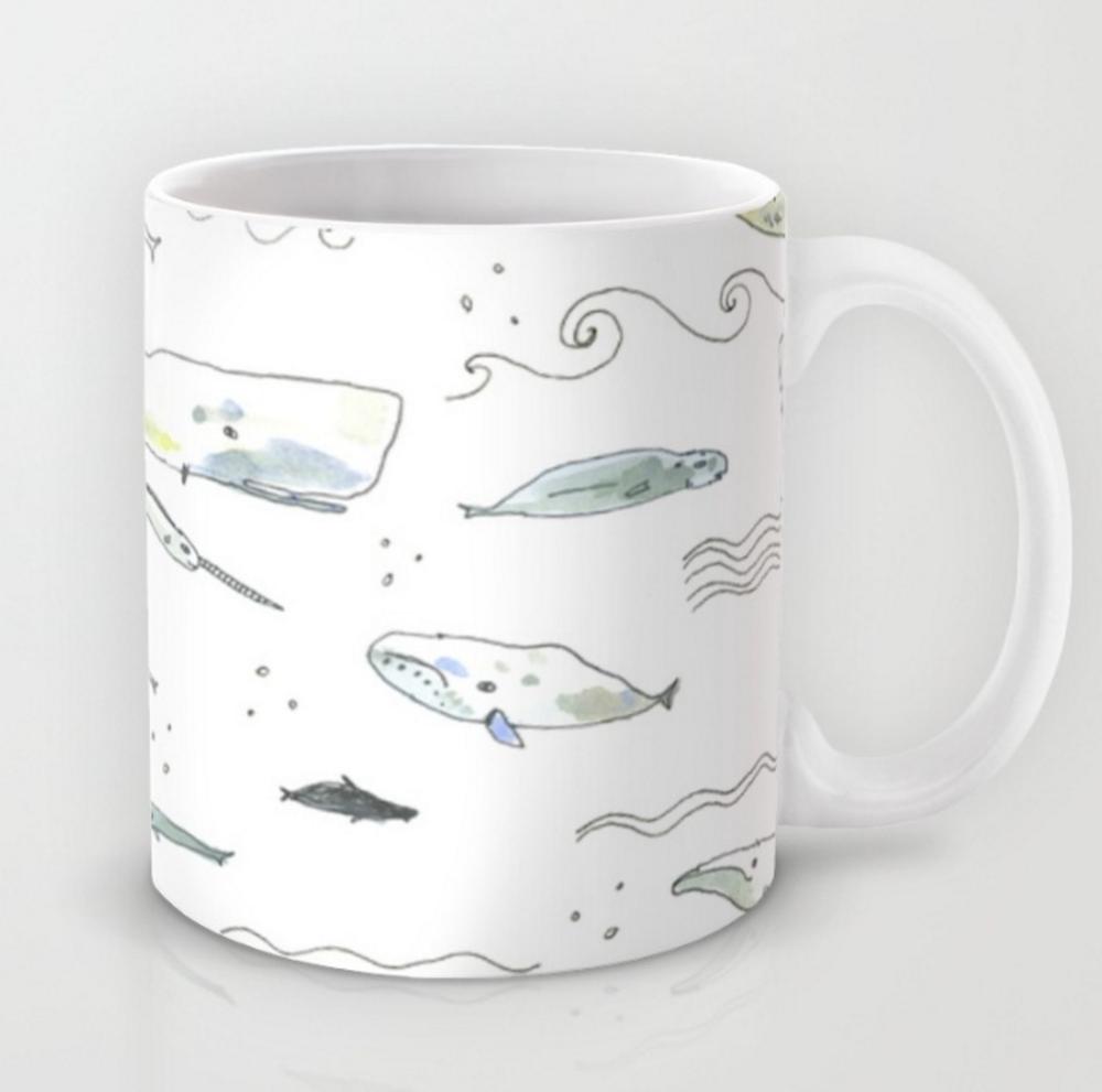 whale patterb