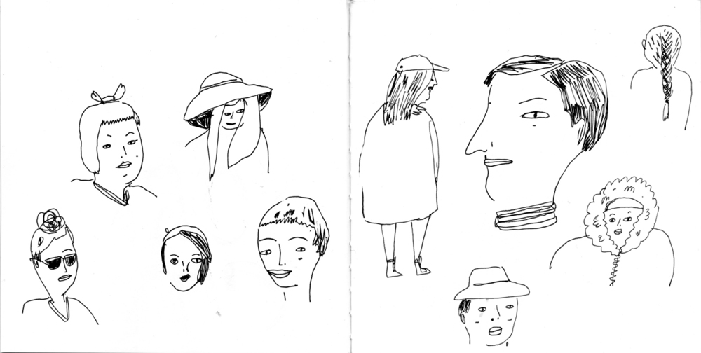 NYC sketchbook