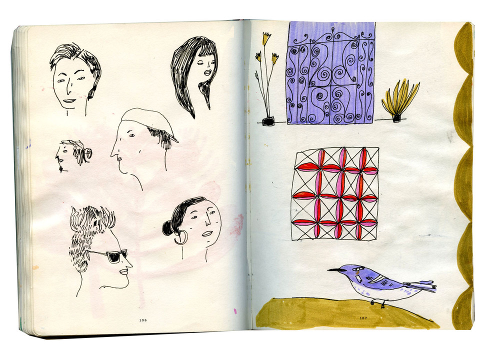 san francisco sketchbook