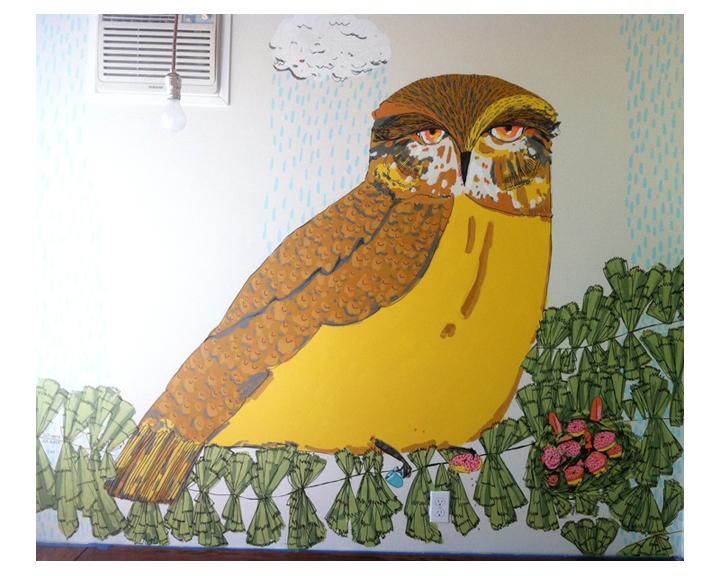 House mural
