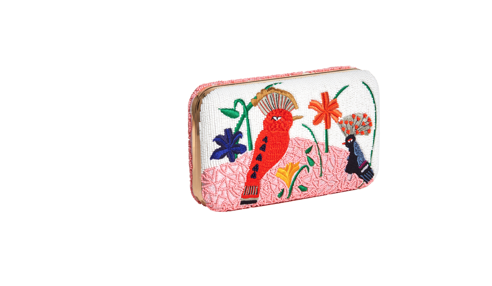 ELIZBETH BIRD PARTY LARGE CLUTCH
