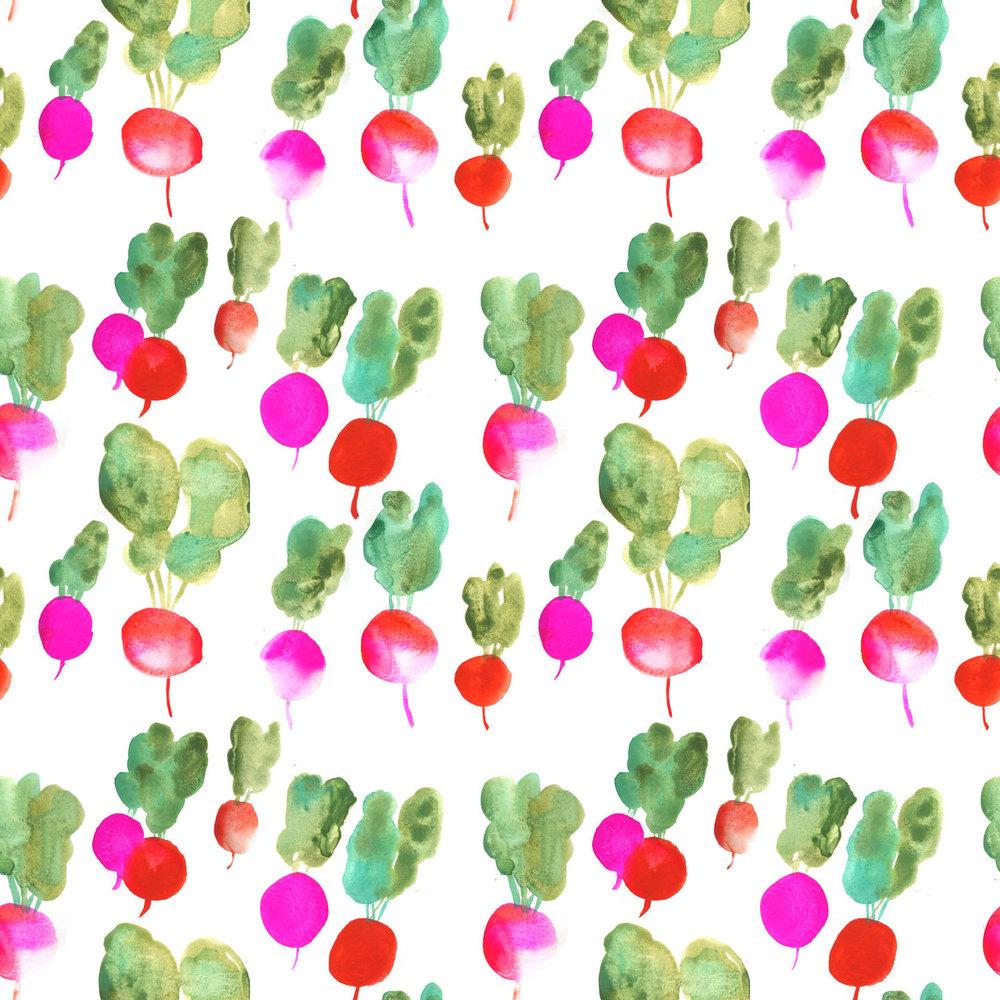 Radish pattern