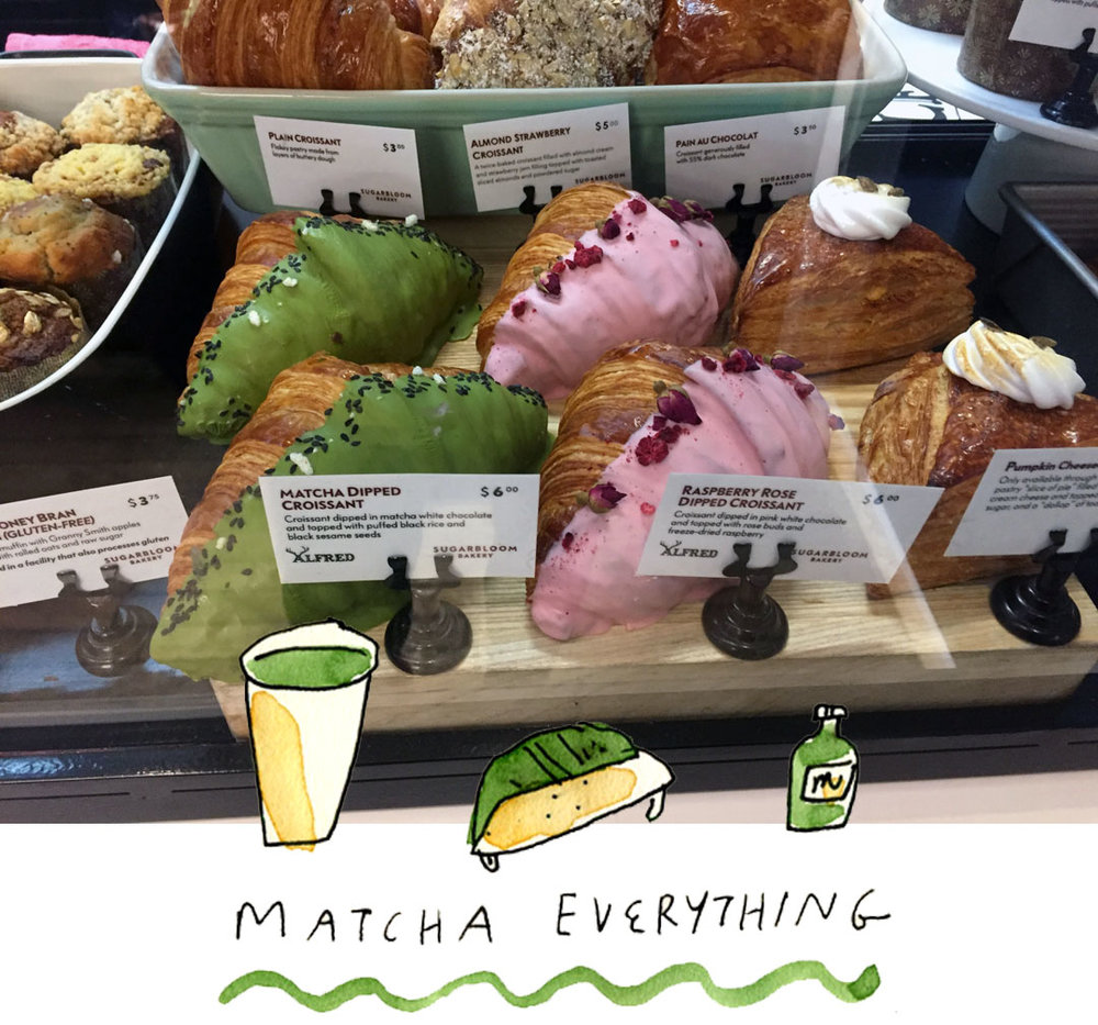 matcha everything