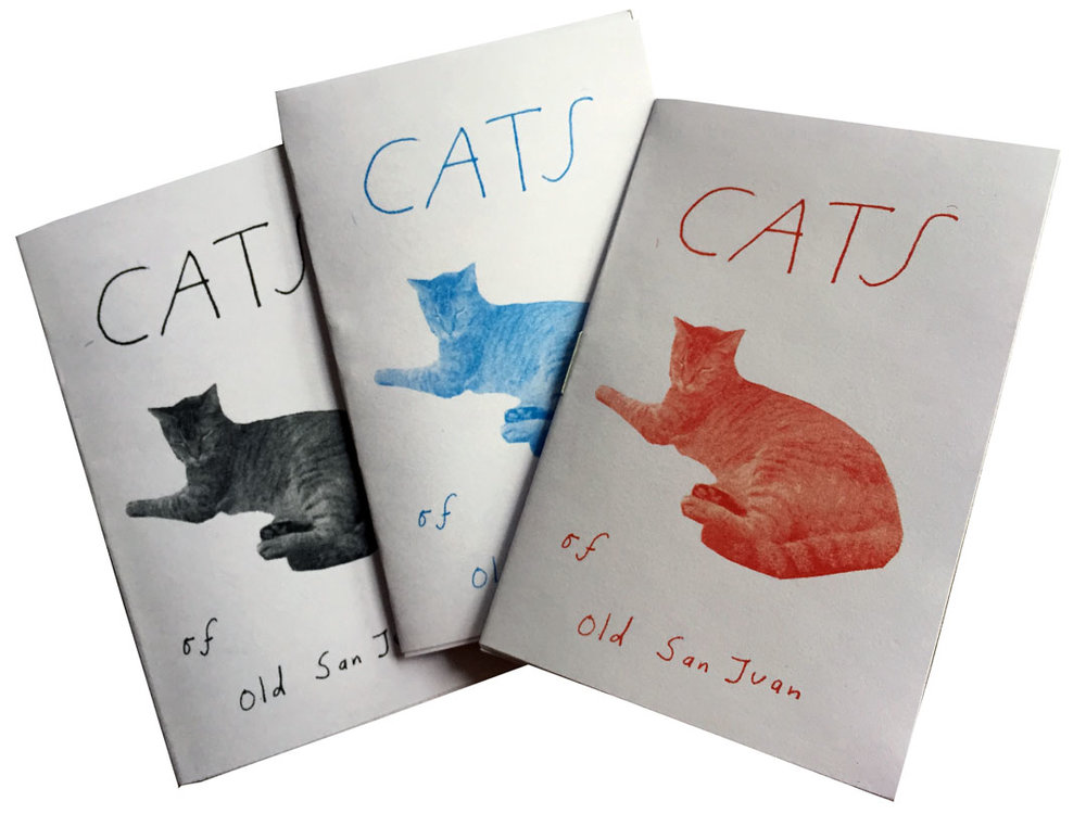 cats of san juan zine