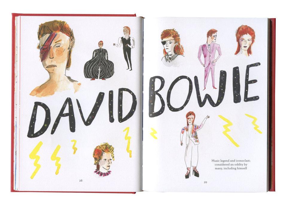 redhead book-David Bowie