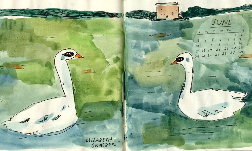 May Calendar Elizabeth Graeber