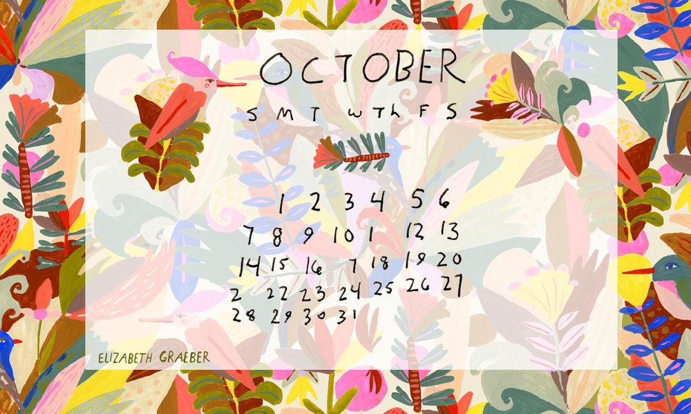 Elizabeth Graeber Calendar
