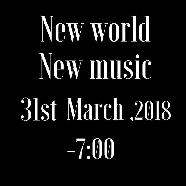 """Save the data! And join us on March 31,2018 for our amazing """"New World, New Music"""" concert here: goo.gl/B7sTwb . . #concert #concerttickets #concertartist #bruceadolphe #icoa #music #classicalmusic #classicalmusician #chambermusic #orchestra #nyc #march #newworld #newmusic #visualart"""