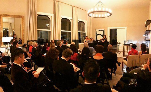 ICOA benefit concert hosted by @sothebysrealty @vacheronconstantin @alchemy_properties 🎶🎶🎶