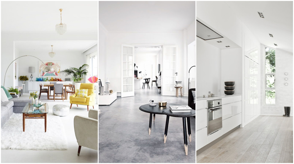 White Wall Paint Colour   Pearson And Projects