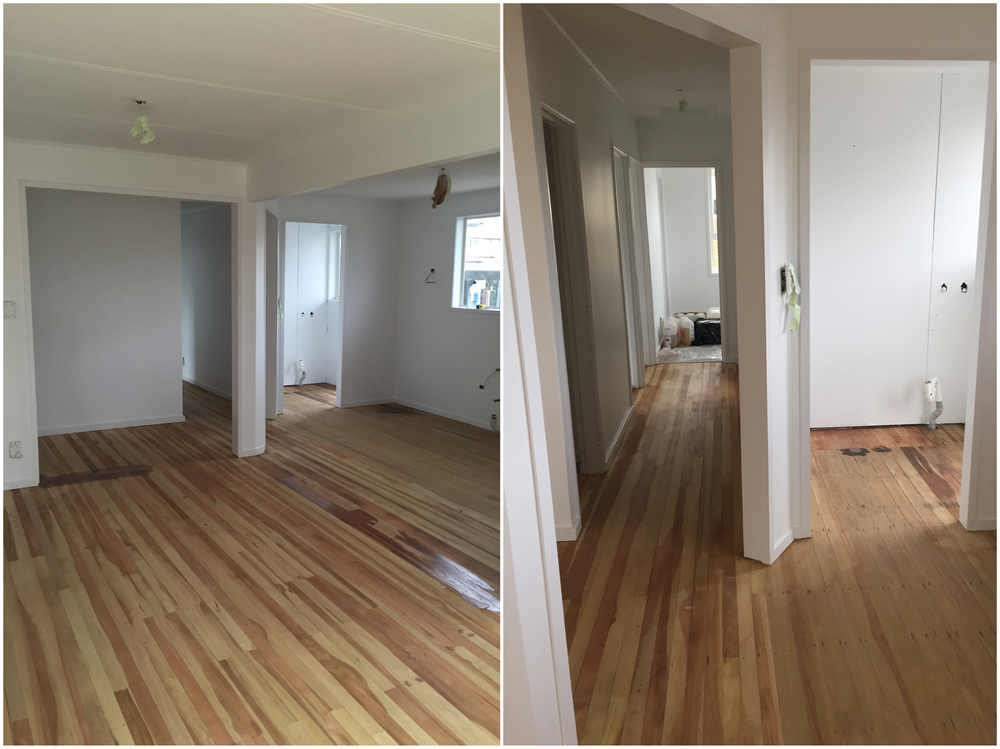 Pearson and Projects - Renovation Progress - Floor Sanding