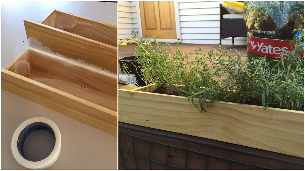 Pearson and Projects - Recessed Planter Box - Line and Plant - DIY