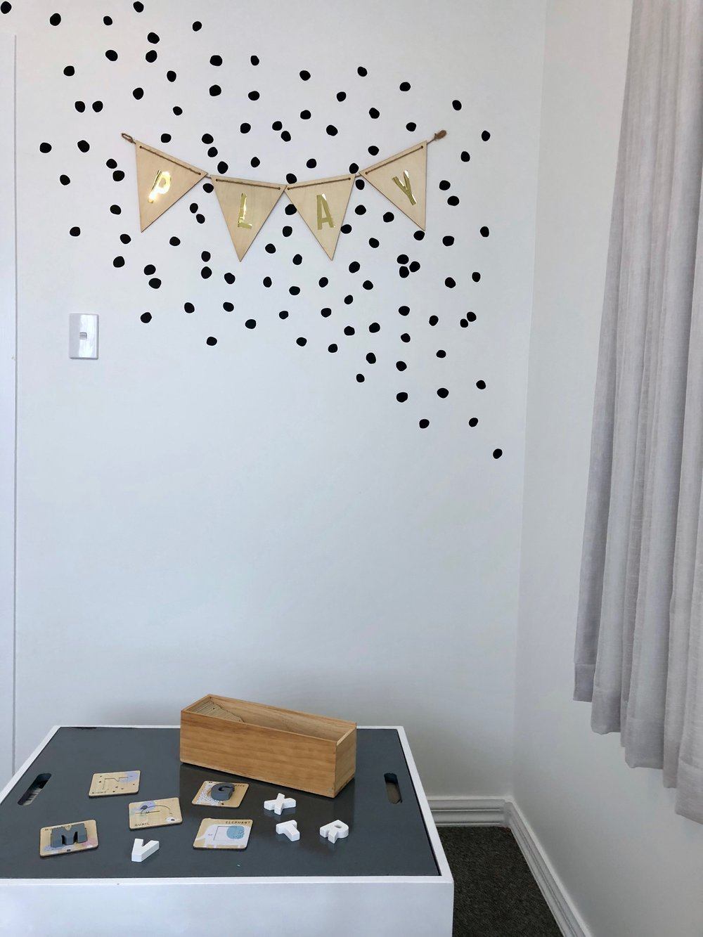Pearson + Projects Relocatable Reno Play Room Storage Dots Bunting.jpg