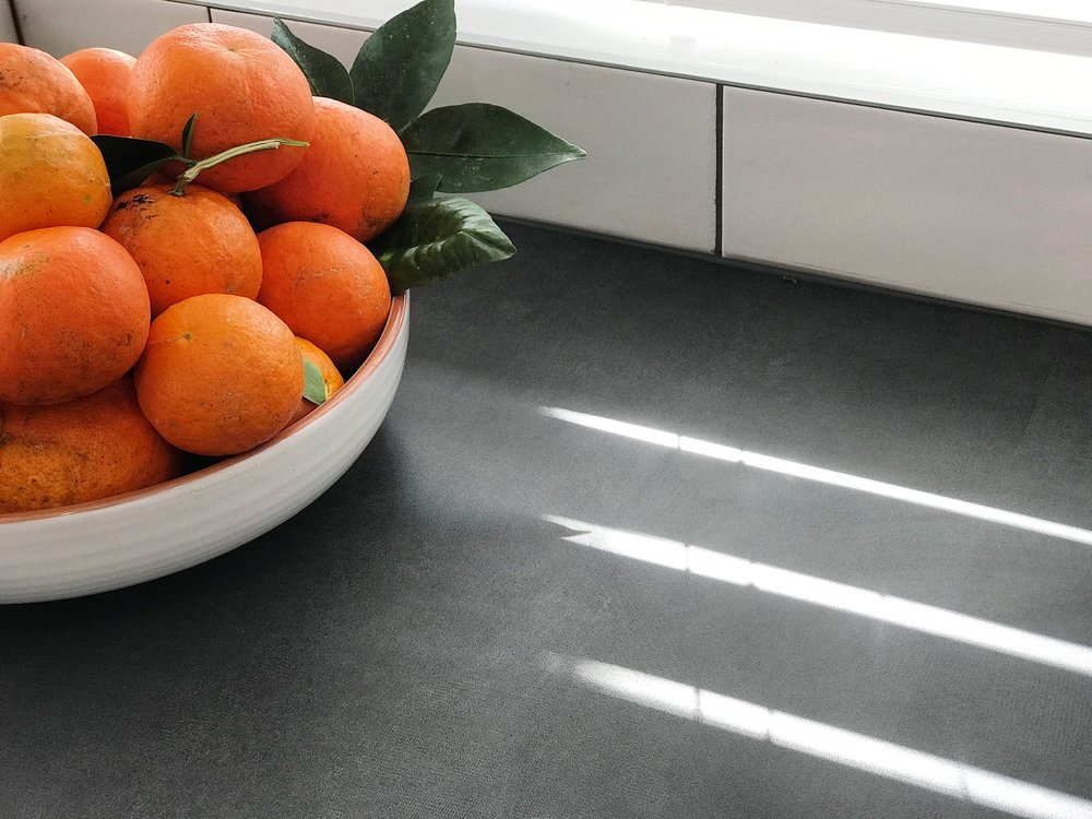 Pearson + Project The Rookies Kitchen Reveal Benchtop Oranges Tiles Urban.jpg
