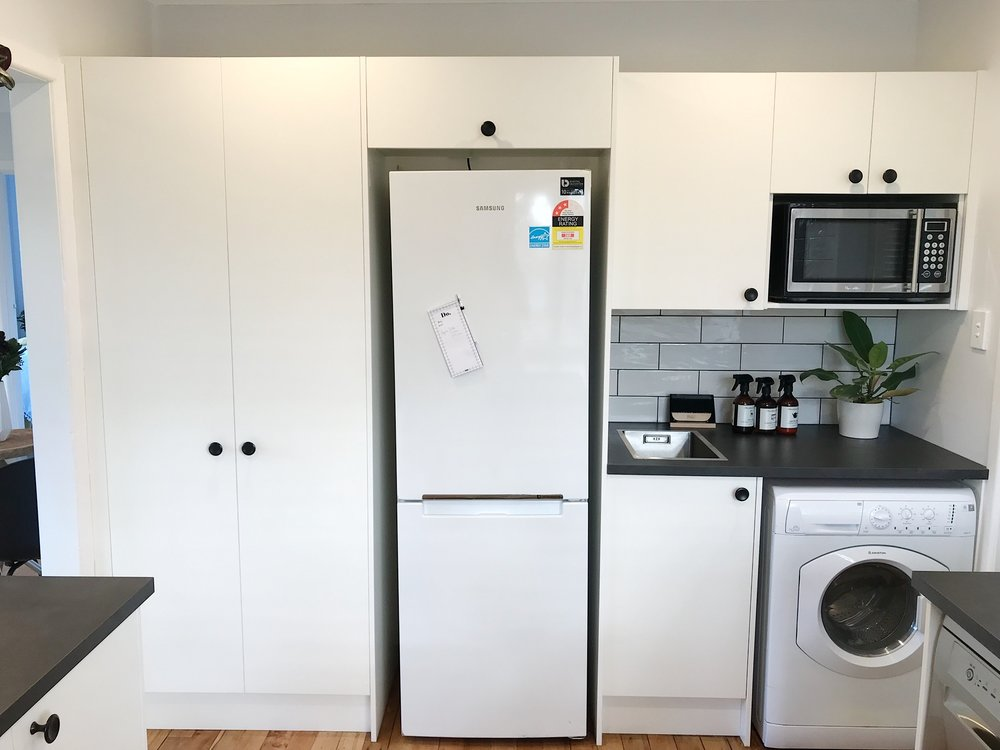 Pearson + Project The Rookies Kitchen Reveal laundry small spaces.jpg