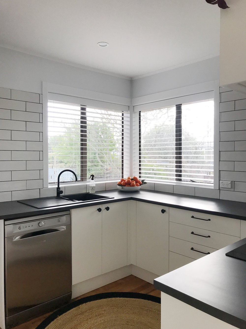 Pearson + Project The Rookies Kitchen Reveal Subway White Black Budget Simple.jpg