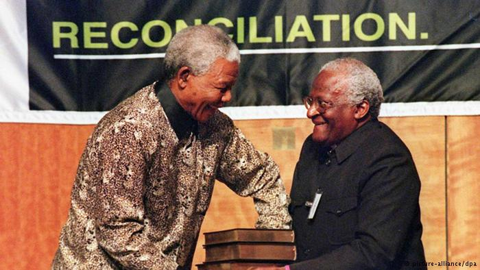Nelson Mandela and Archbishop Desmond Tutu