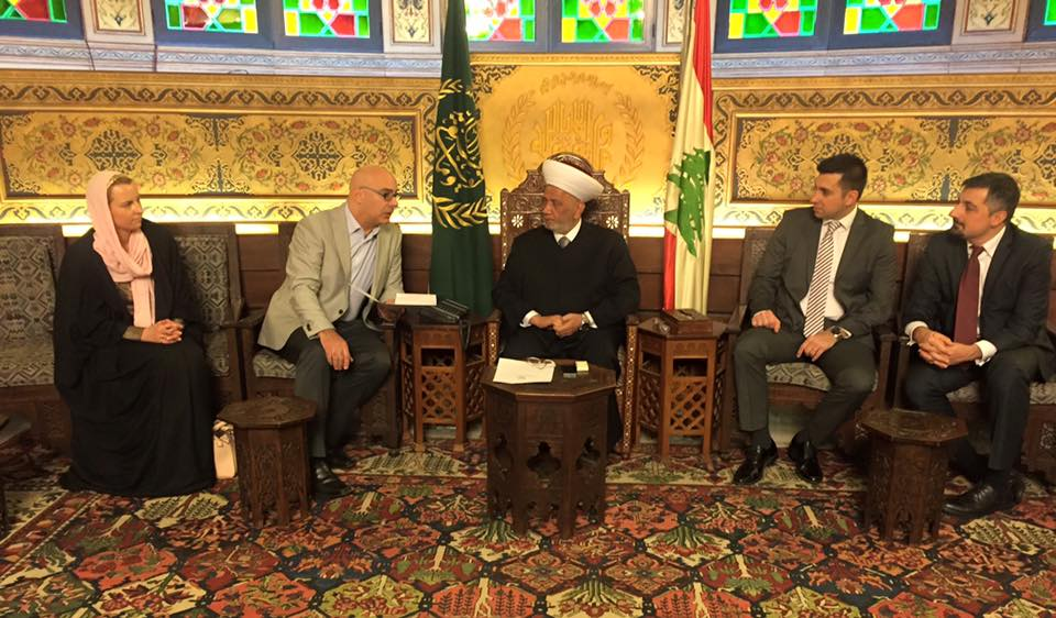 CRGA meeting with the Grand Mufti of Lebanon