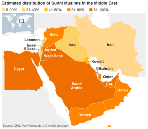 A Sectarian War Unfolding In The Middle East The Centre On