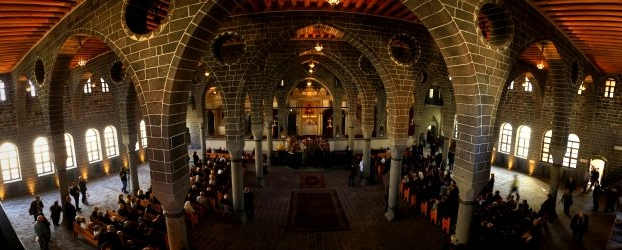 Surp Giragos Armenian Church , Diyarbakir, Turkey.  Picture Source