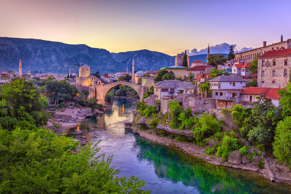 Mostar, Bosnia and Herzegovina. Photo by Greg Sullavan