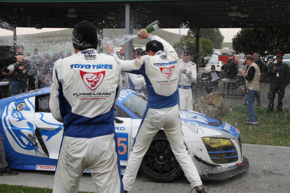 Tom Woods took 6th at NASA's 25 Hours at Thunderhill