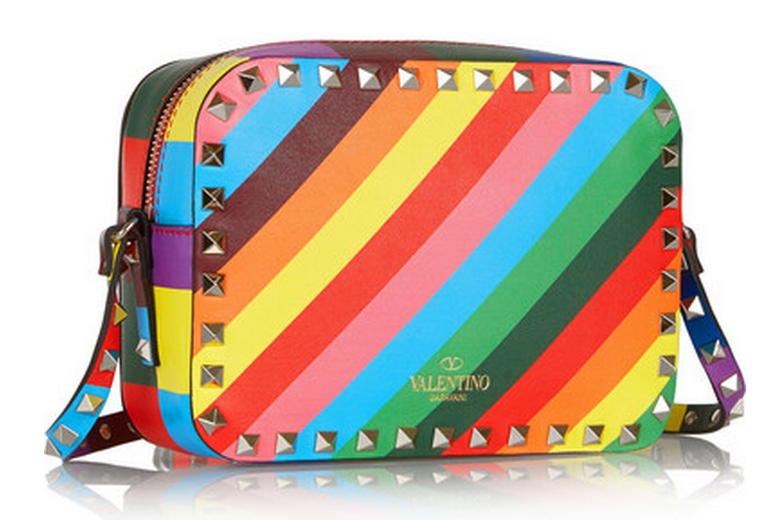 valentino rainbow bag