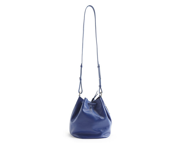 whistles blue bucket bag