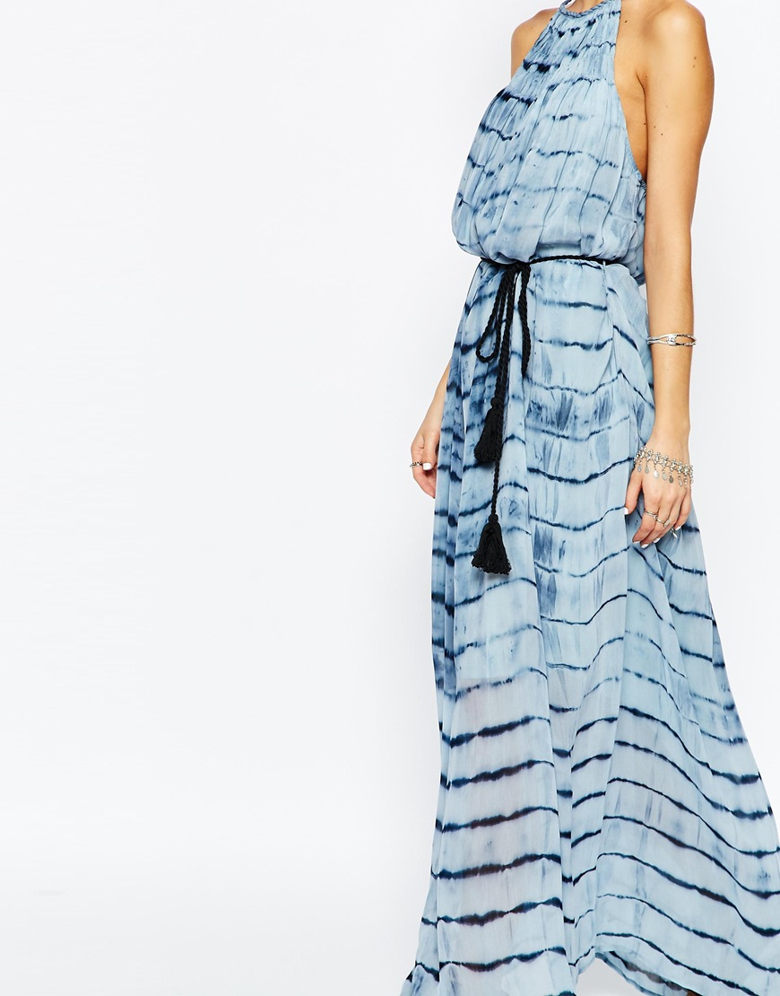 Selected Miriam Dress in Tie Dye