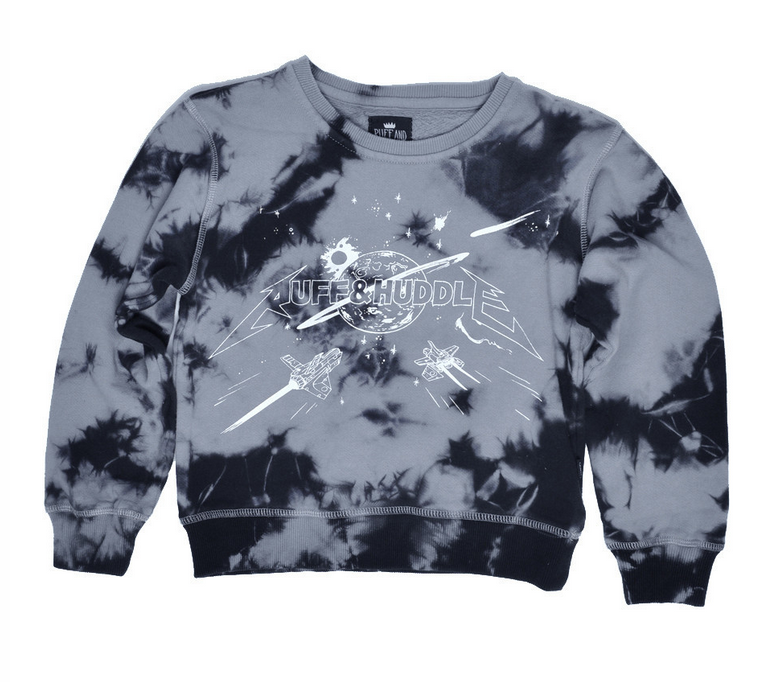 SPACE ROCKER TIE DYE CREW