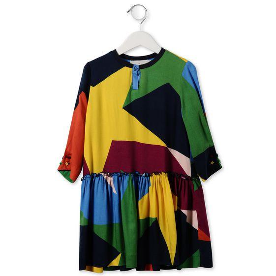 KIWI STAR PRINT DRESS