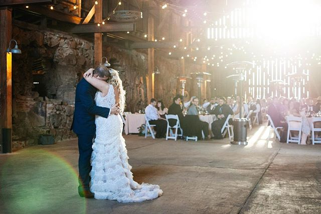 When your first dance is during golden hour... ✨✨👌🏼