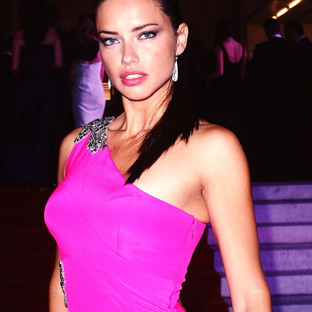 Adriana Lima wearing Jane Taylor Jewelry at the BrazilFoundation gala-3
