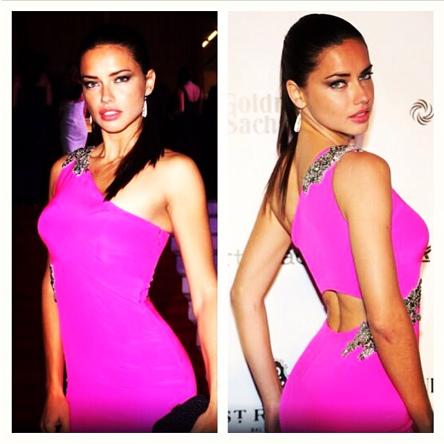 Adriana Lima wearing Jane Taylor Jewelry at the BrazilFoundation gala-4