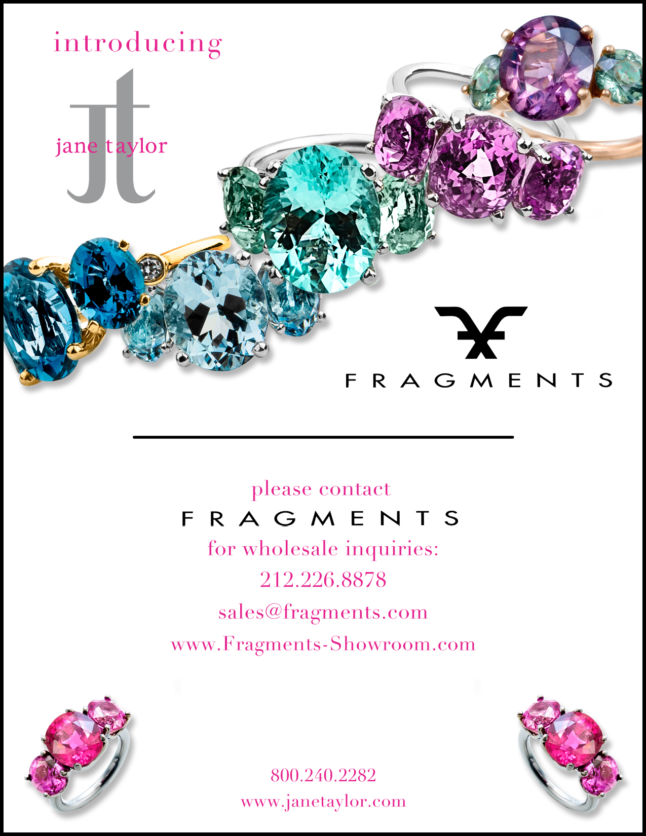 Introducing Jane Taylor Jewelry at Fragments