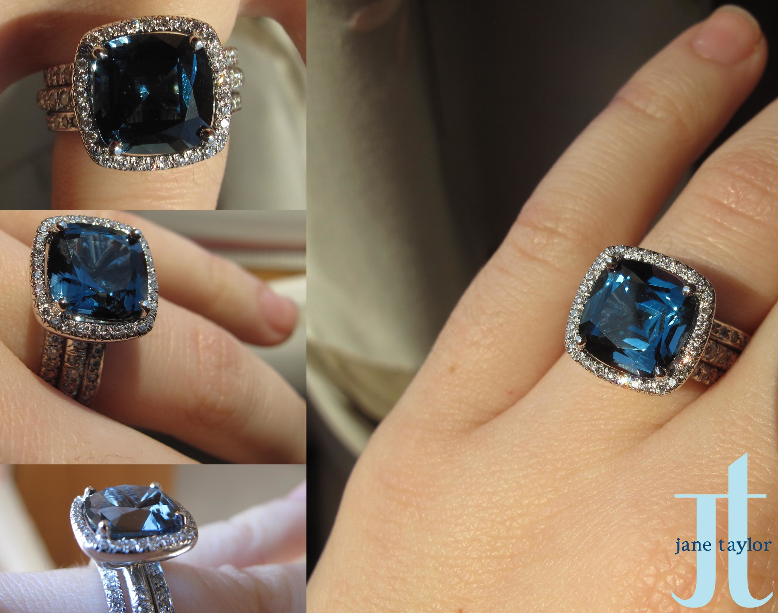 The Jt Solution To A Princess Diana Ring Replica Jane Taylor Jewelry