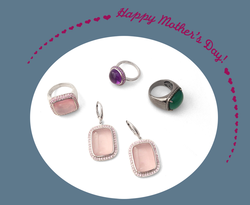 Mother's Day Jewelry from Jane Taylor, Sterling Silver Bubble & Squeak Collection