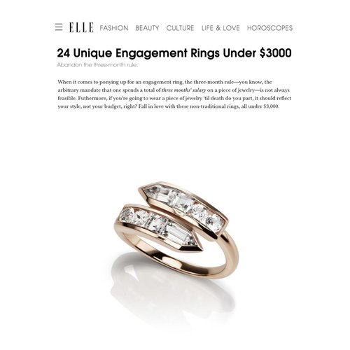 bypass ring engagement marquise diamond style rings