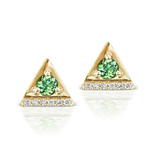 jewelers radiant tourmaline jewelry city stud cut chrome collections park earrings tagged birthstone