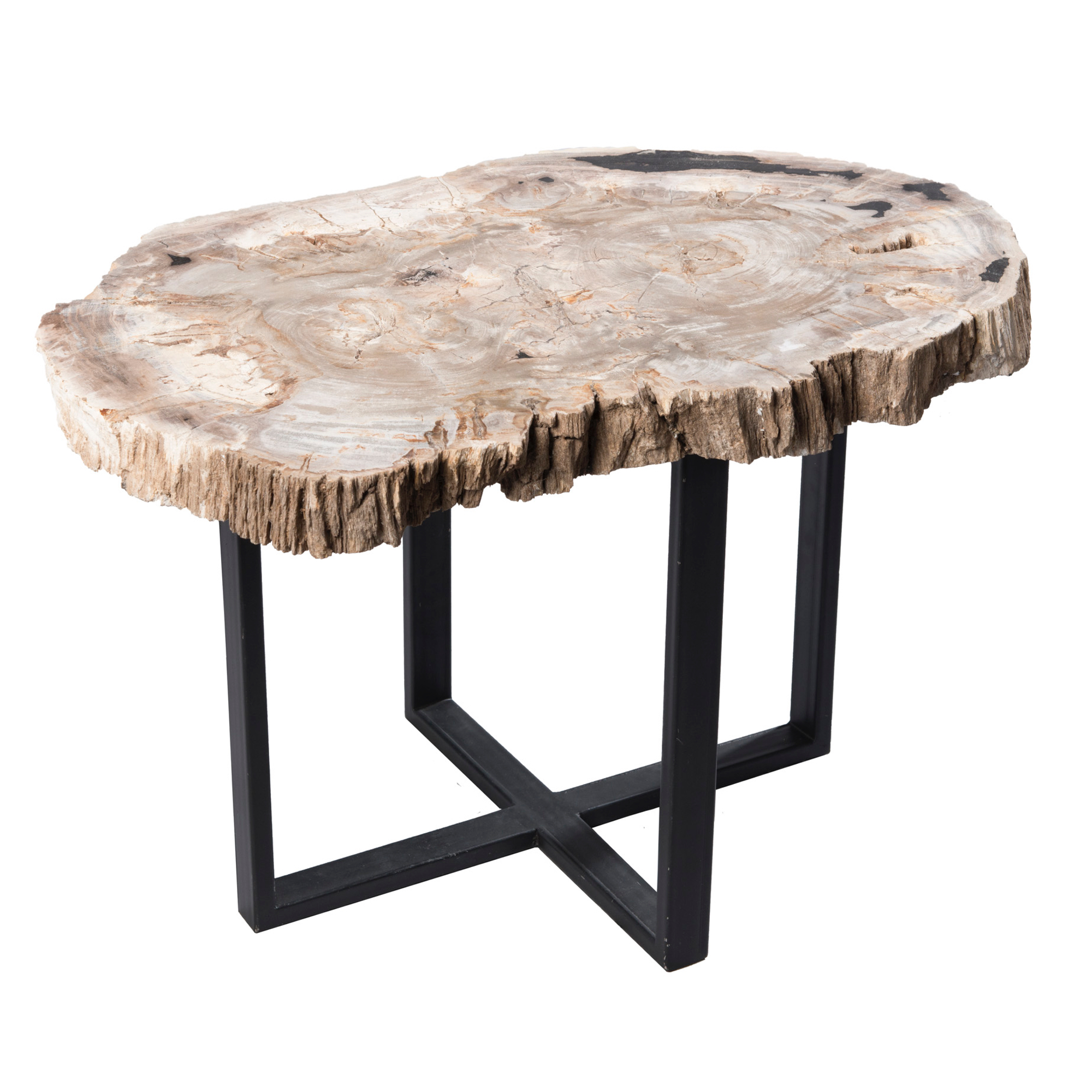 petrified wood upper east side table pf1050