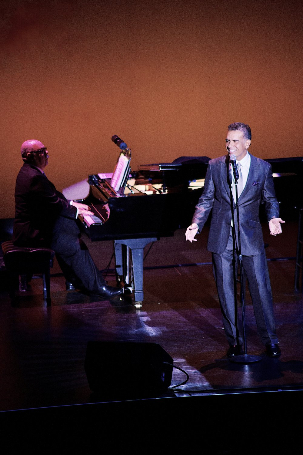 Brian Stokes Mitchell, Mark Hummel. The La Jolla Playhouse, December 2016