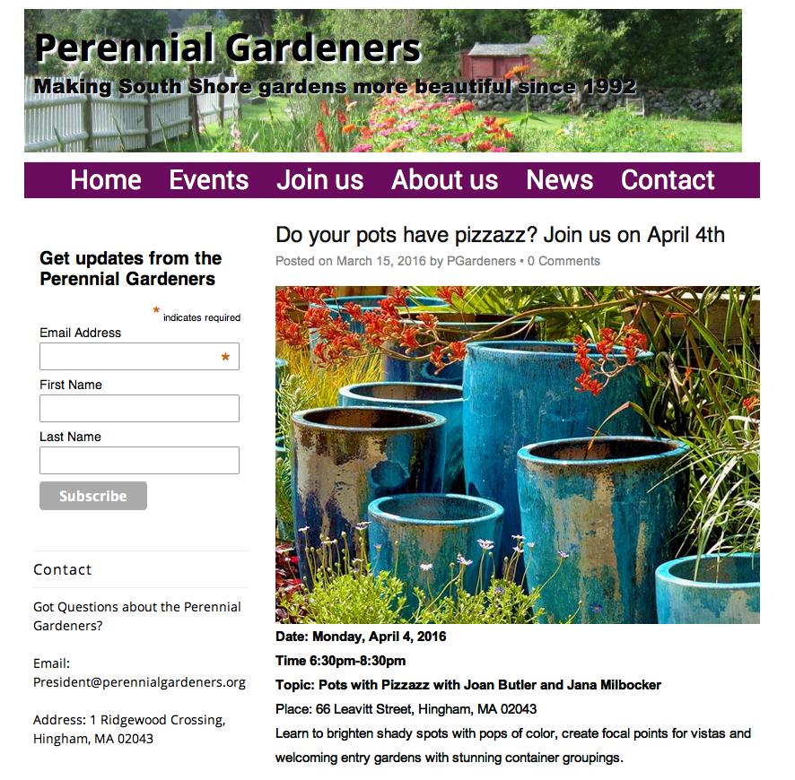 Perennial Gardeners