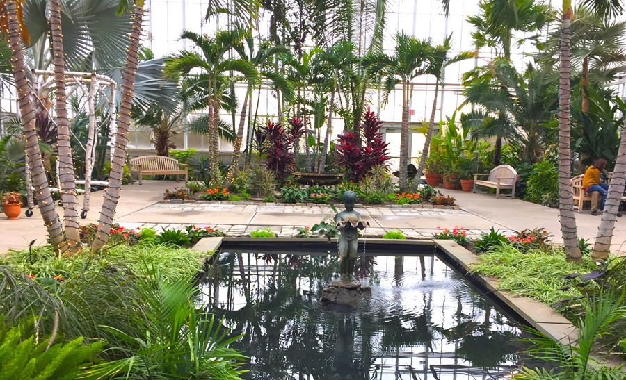 If You Are Looking To Come In From The Cold In January, New England  Features Several Lovely Indoor Gardens (see Related Article).