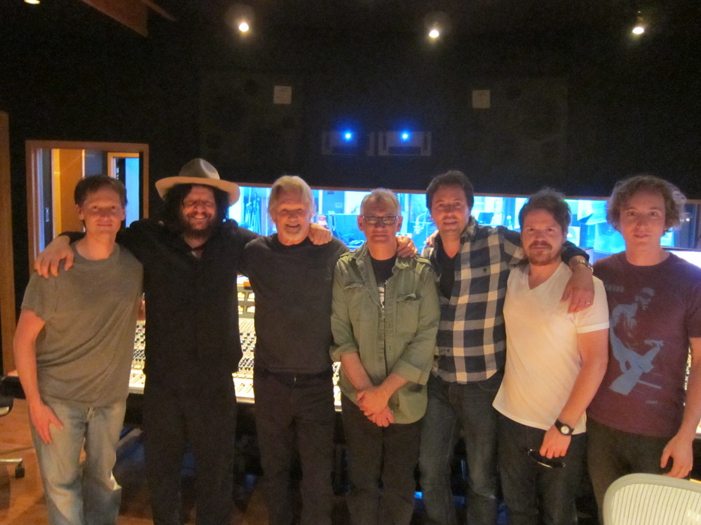 Ben with Kris Kristofferson, Don Was and Howard Willing (and the gang!) Eastwest Studios - Los Angeles, CA