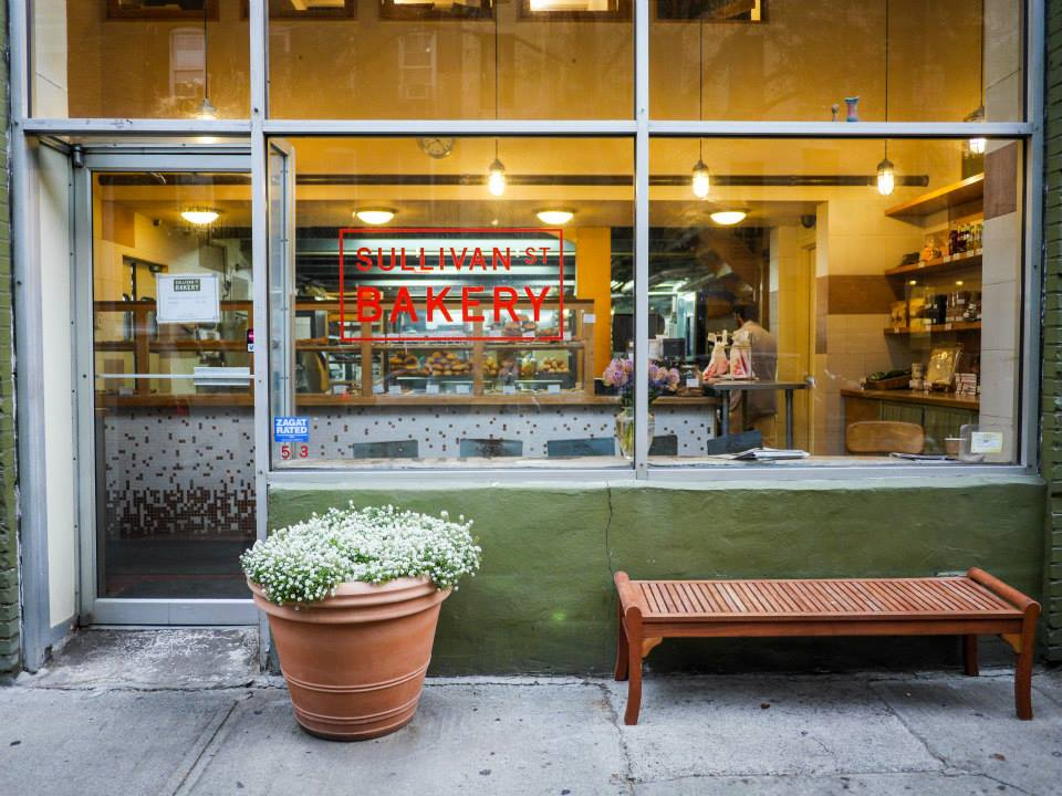 hello getaway, city guide, nyc, sullivan st bakery