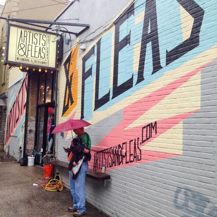 hello getaway, city guide, nyc, artists & fleas